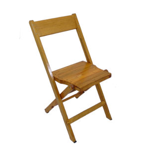 Wooden Natural Chair