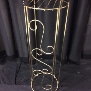 Plant stand, brass