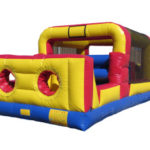Mini Obstacle Course Inflatable, 32x13x10, 350lbs