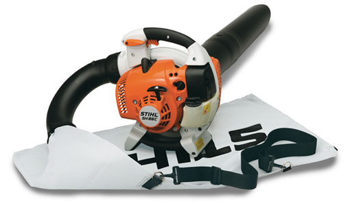 BLOWER VAC, STIHL, 27.2 CC starting at 30