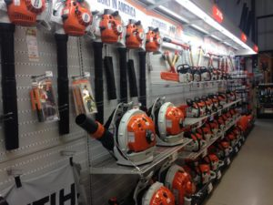 New Stihl aisle