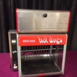 Hot Dog Broiler With Bun Warmer