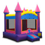 Princess Castle Basic Inflatable, 15x15x15, 230lbs