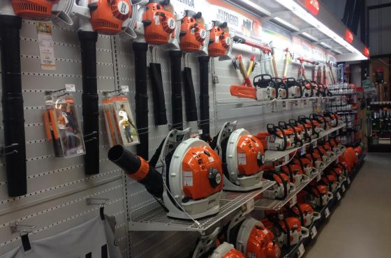 Spring is here! Check out our new Stihl aisle…